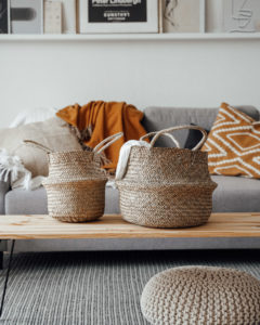 "Produktabbildung: ""Munduk"" natural seaweed basket"