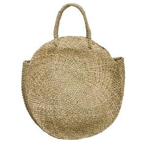 "Produktabbildung: Runde Strandtasche ""Lovina"" aus Seegras"