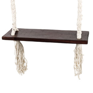 "Produktabbildung: ""Bingin"" swing with dark ropes"