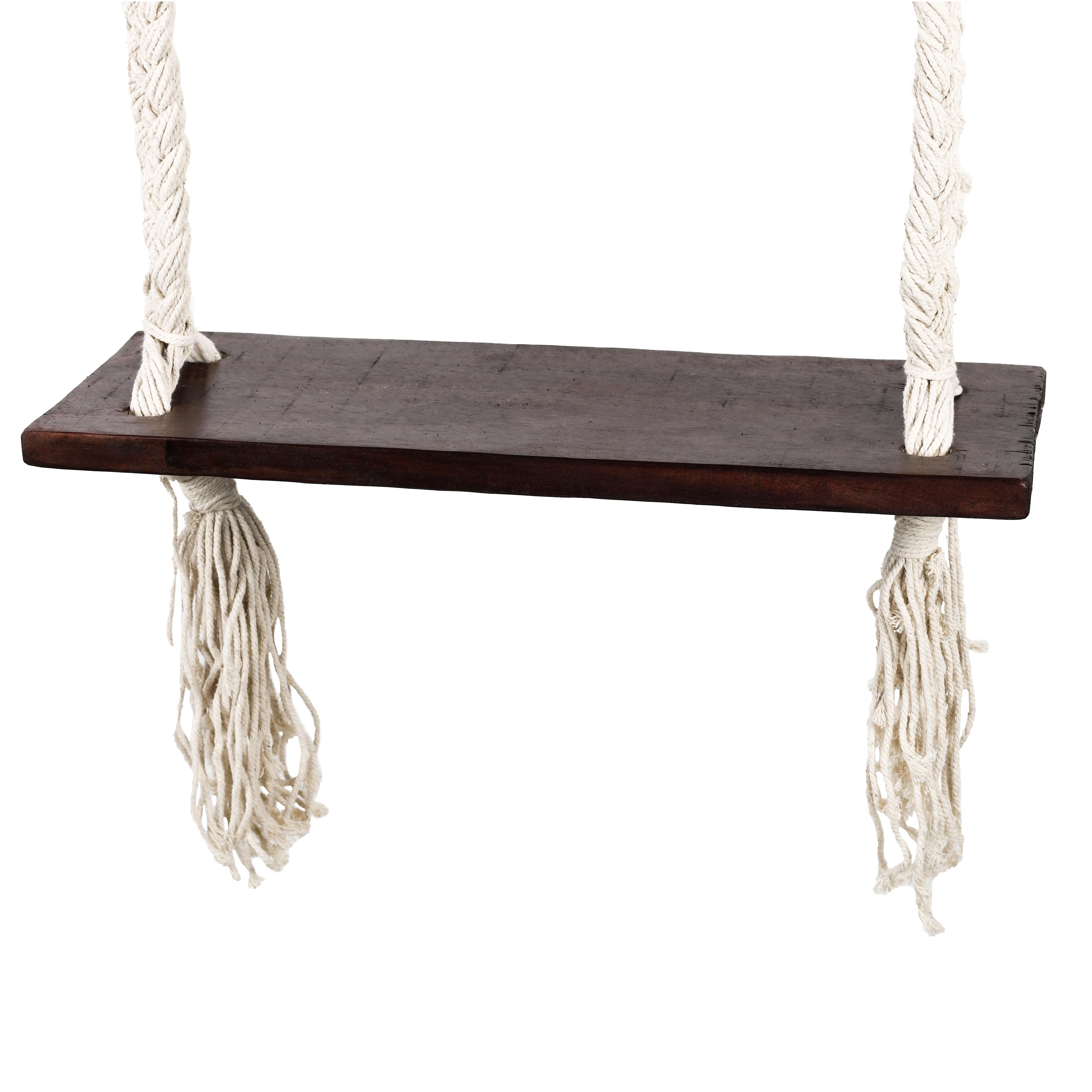 """Farbe der Seile: """"Bingin"""" Schaukel mit dunklen Seilen"""