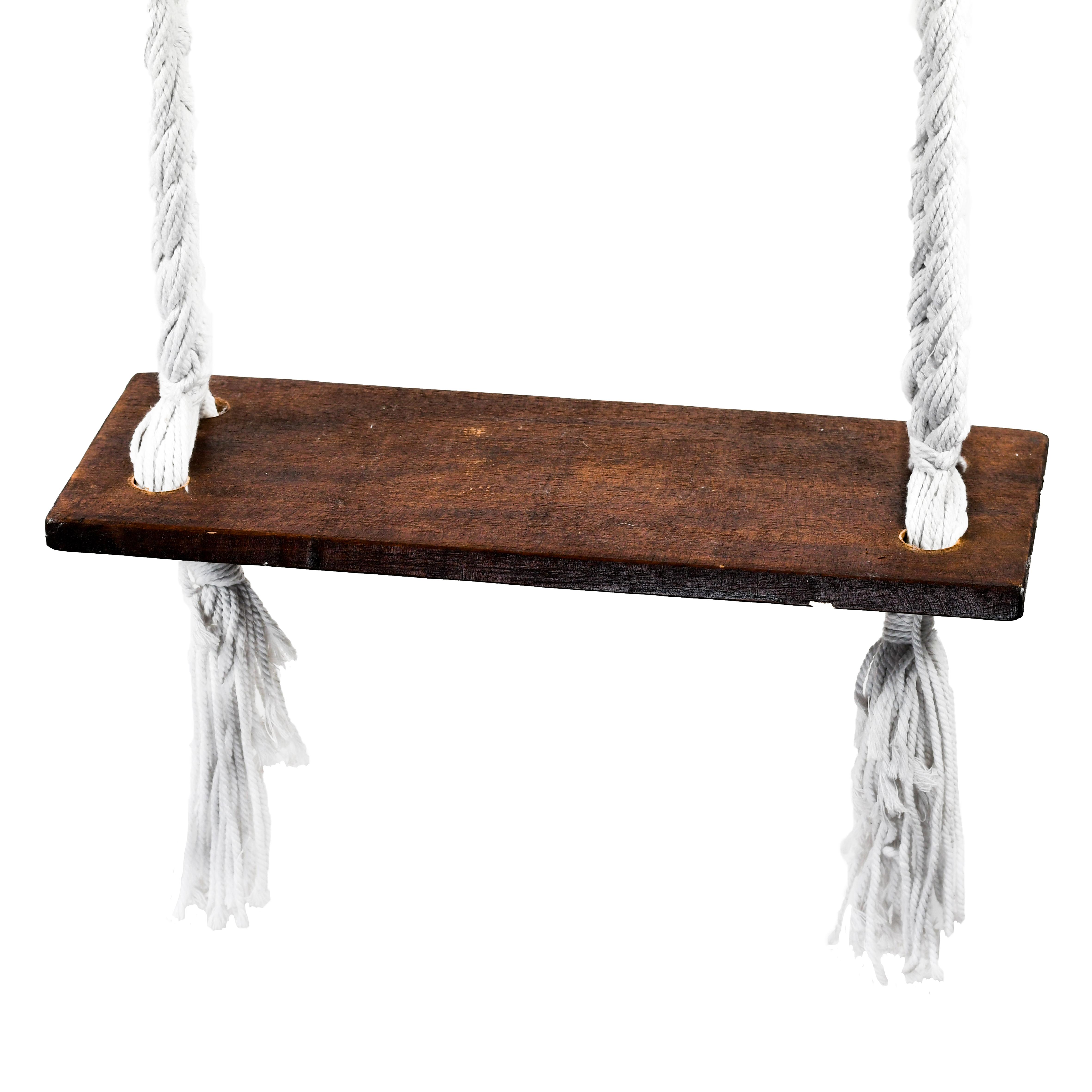 """Farbe der Seile: """"Bingin"""" Schaukel mit hellen Seilen"""