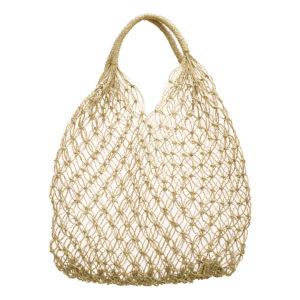 "Produktabbildung: ""Sanur"" net bag made of straw"