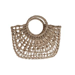 """Produktabbildung: Basket bag """"Ceningan"""" made out of straw"""
