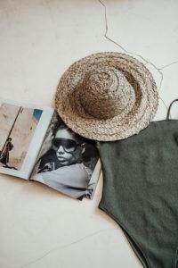 "Produktabbildung: Straw hat ""Jimbaran"" hand woven"