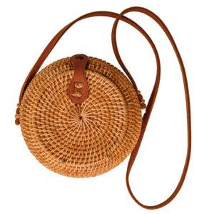 "Produktabbildung: Rounded ata bag ""Kuta"" Natural"