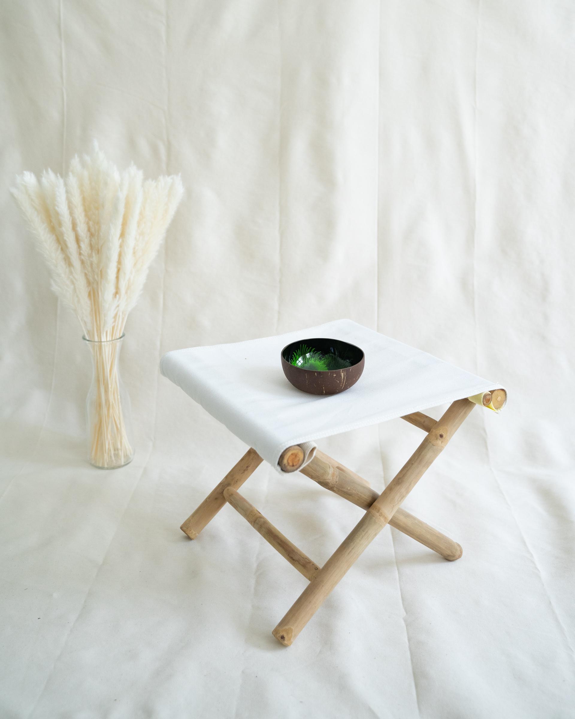 "Ausführung: ""Halong"" Coconut Bowl mit grüner Lackierung"