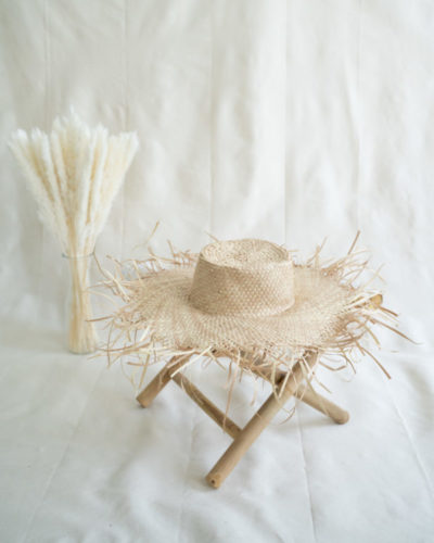 "Produktabbildung: ""Jembong"" straw hat made of ata-grass"