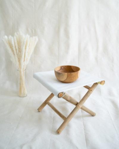 """Produktabbildung: Teakholz Bowl """"Batur"""" 20 cm"""