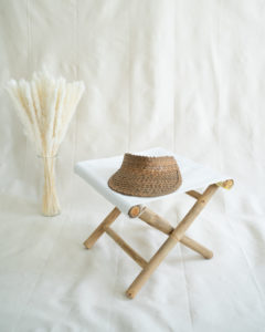 "Produktabbildung: Visor ""Lembongan"" made out of straw in brown"